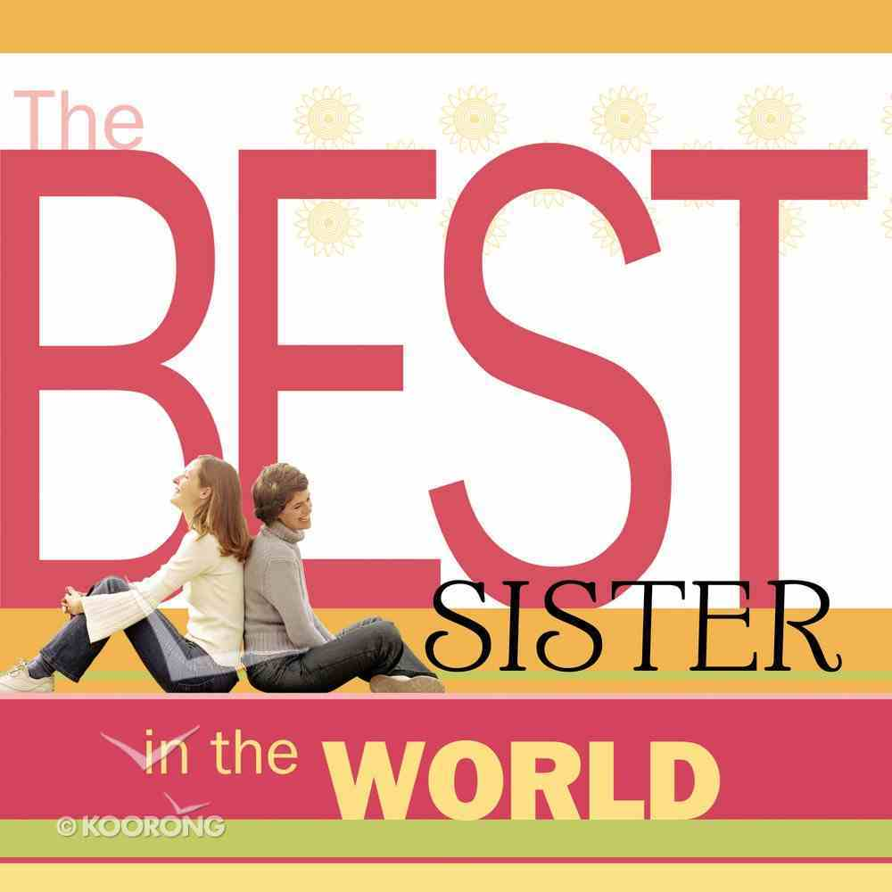 The Best Sister in the World eBook