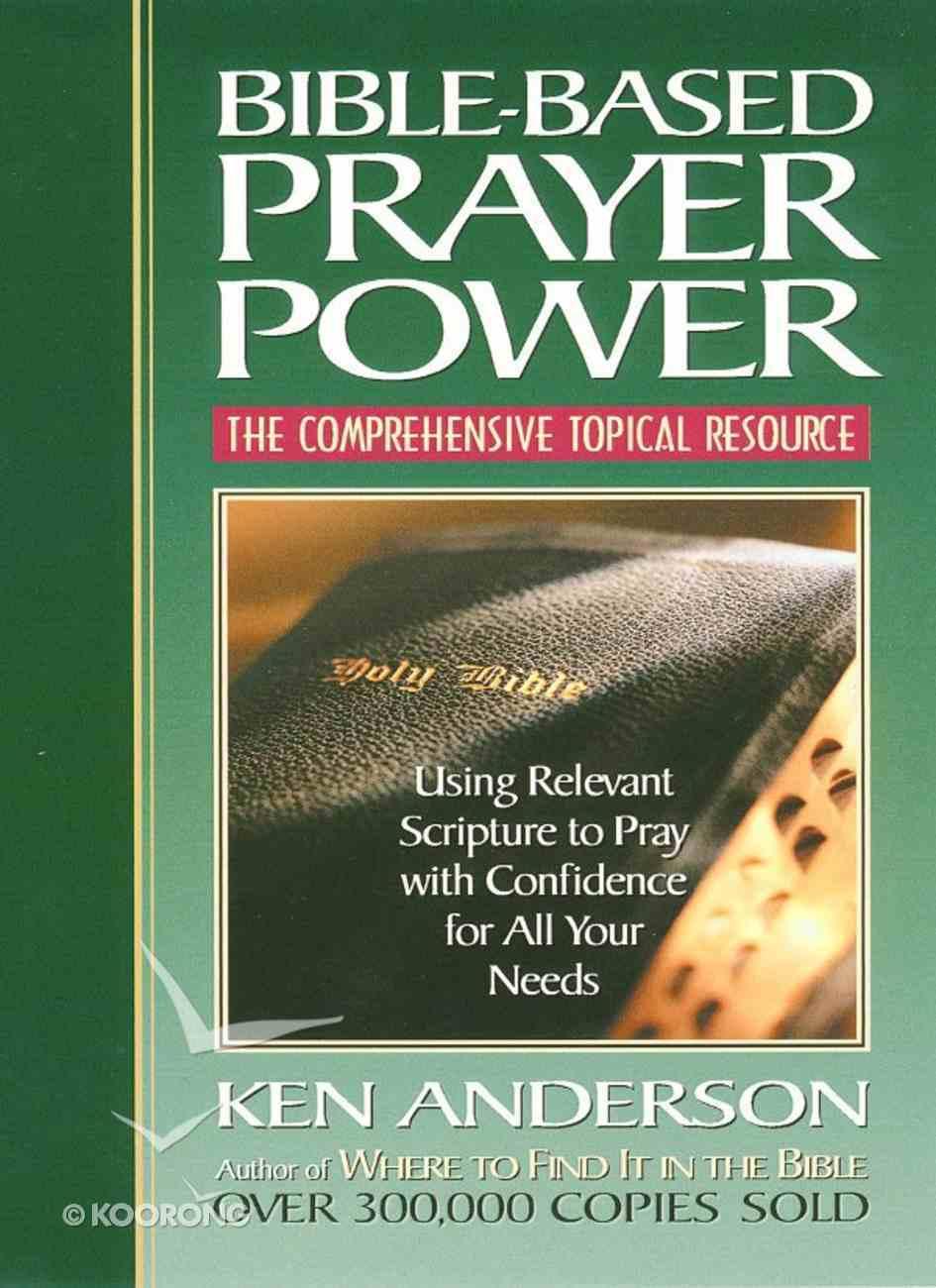 Bible-Based Prayer Power eBook