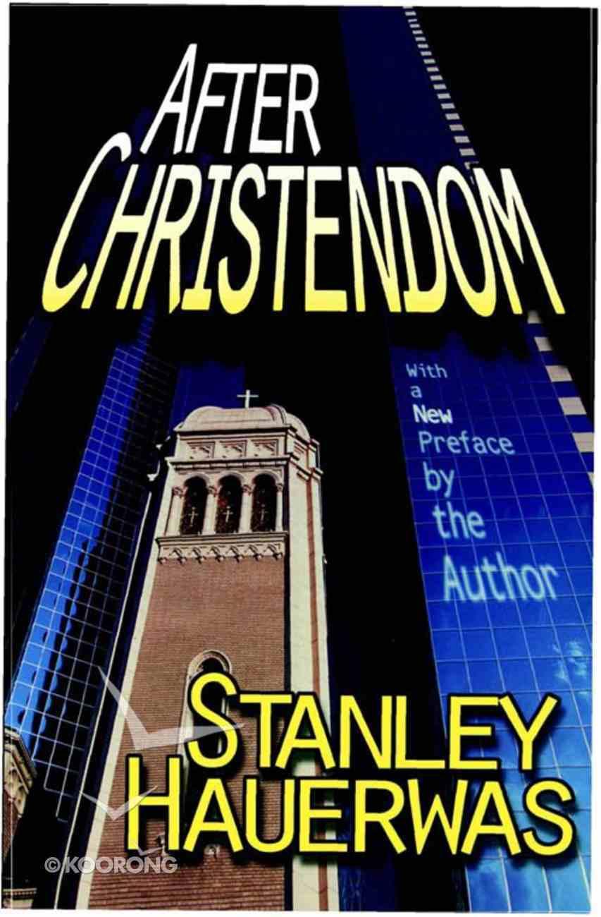 After Christendom? eBook