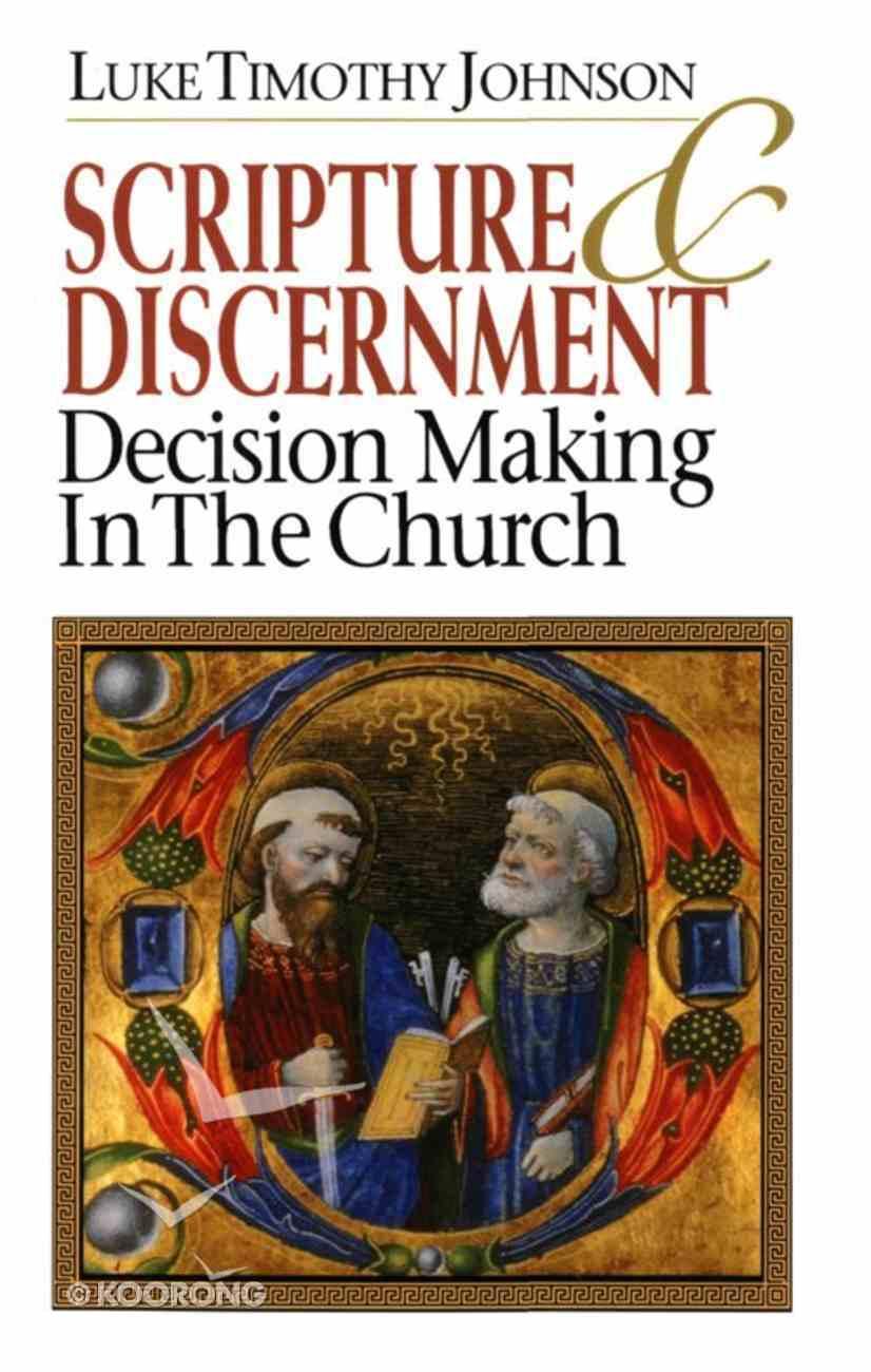 Scripture & Discernment eBook
