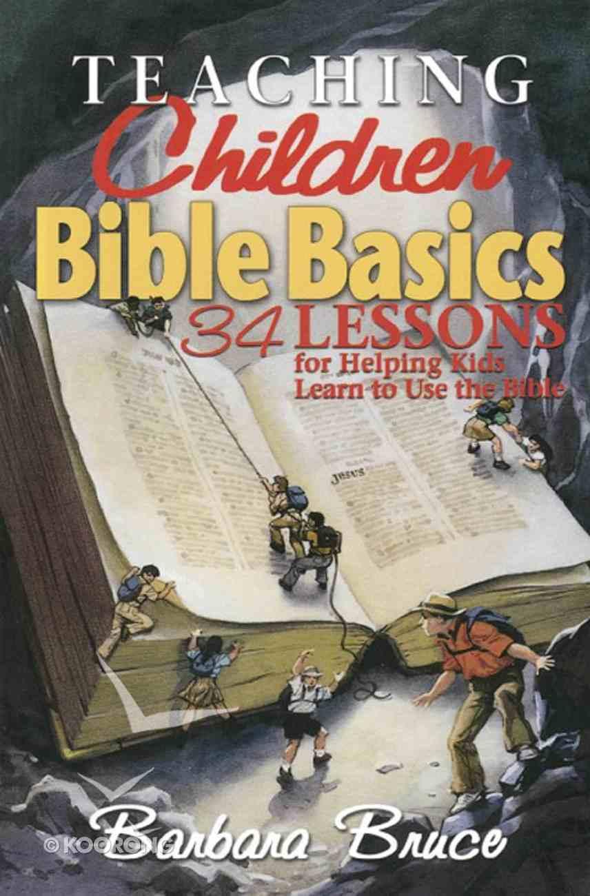 Teaching Children Bible Basics eBook