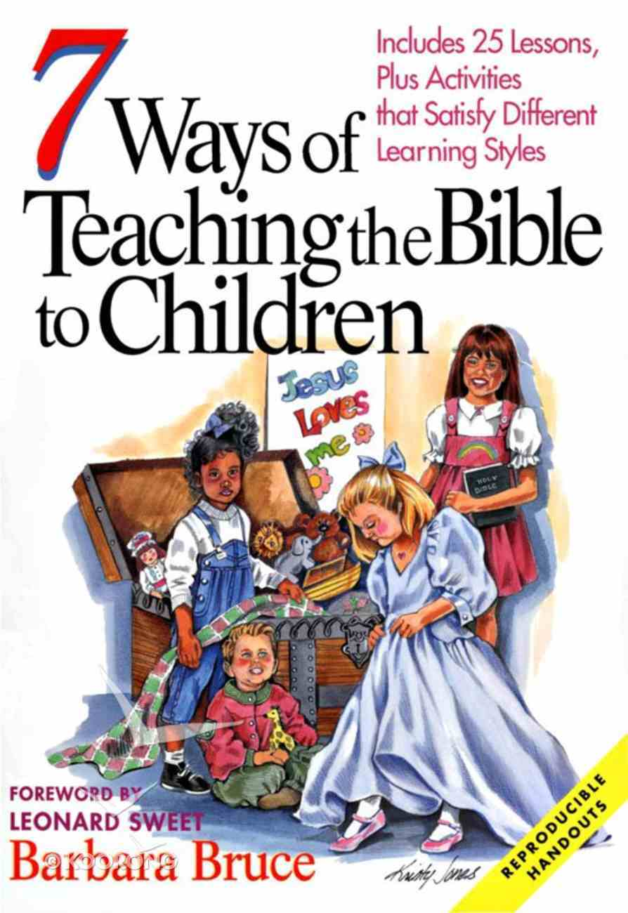 7 Ways of Teaching the Bible to Children eBook
