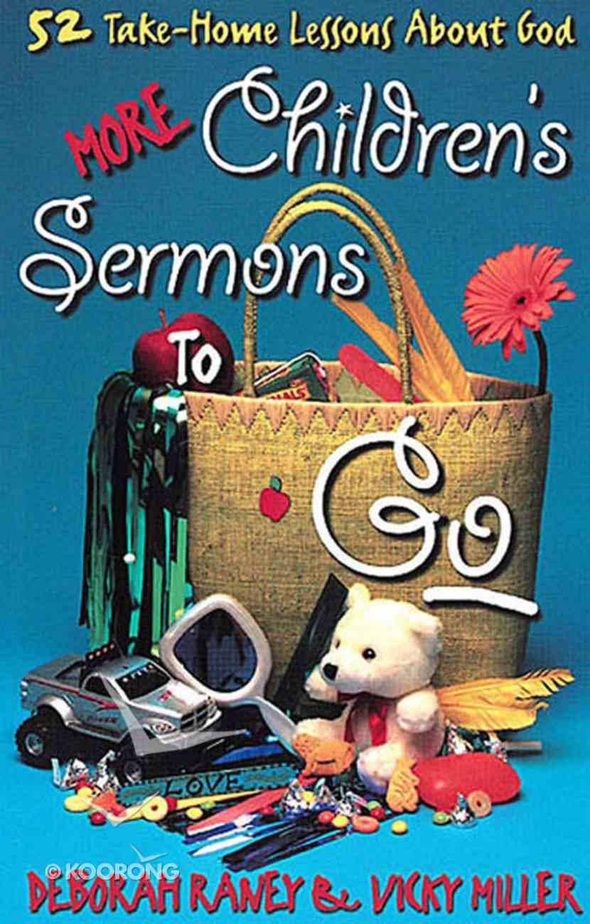 More Childrens Sermons to Go eBook