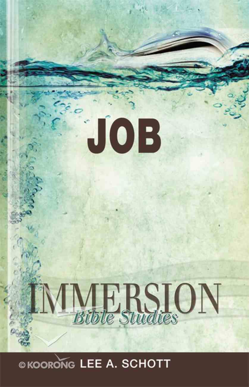 Job (Immersion Bible Study Series) eBook