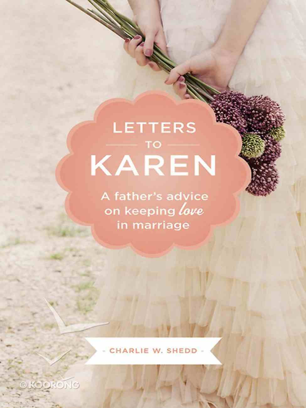 Letters to Karen eBook
