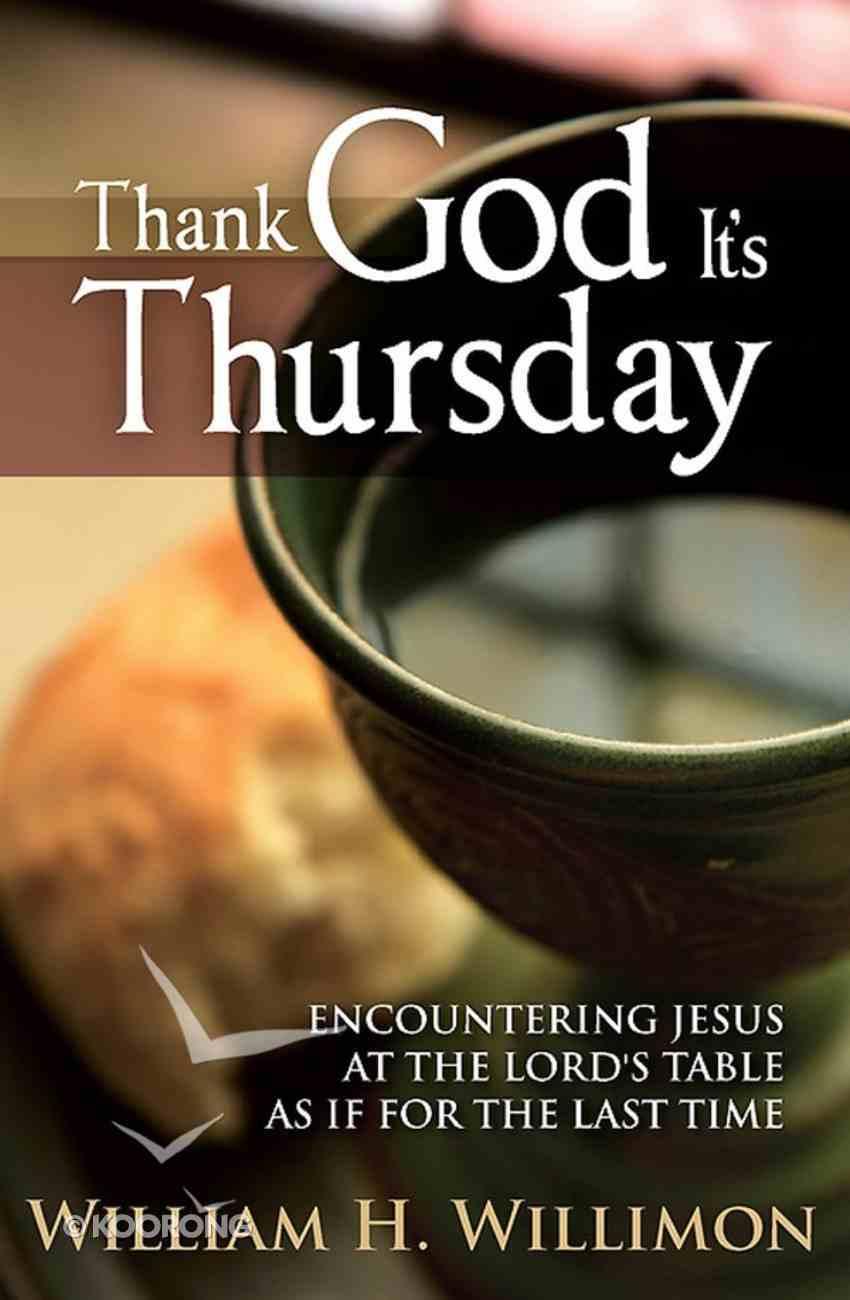 Thank God It's Thursday eBook