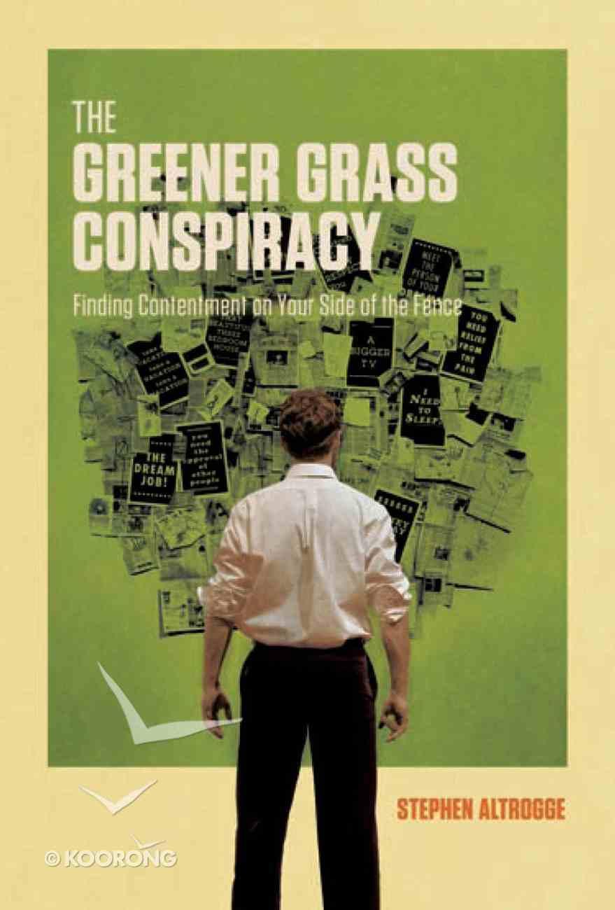 The Greener Grass Conspiracy eBook