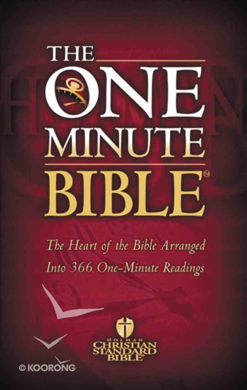 HCSB: One Minute Bible eBook