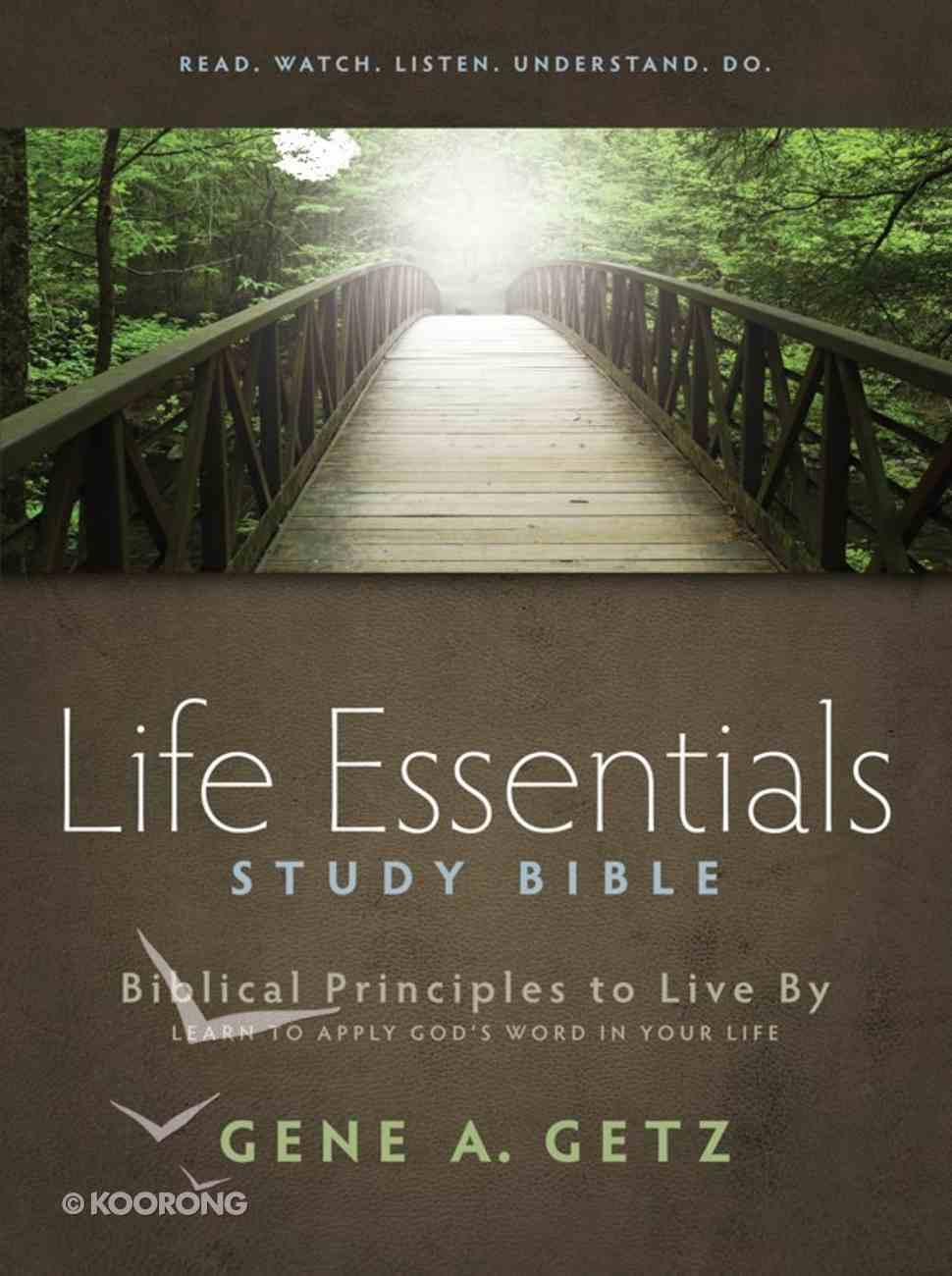 HCSB Life Essentials Study Bible eBook