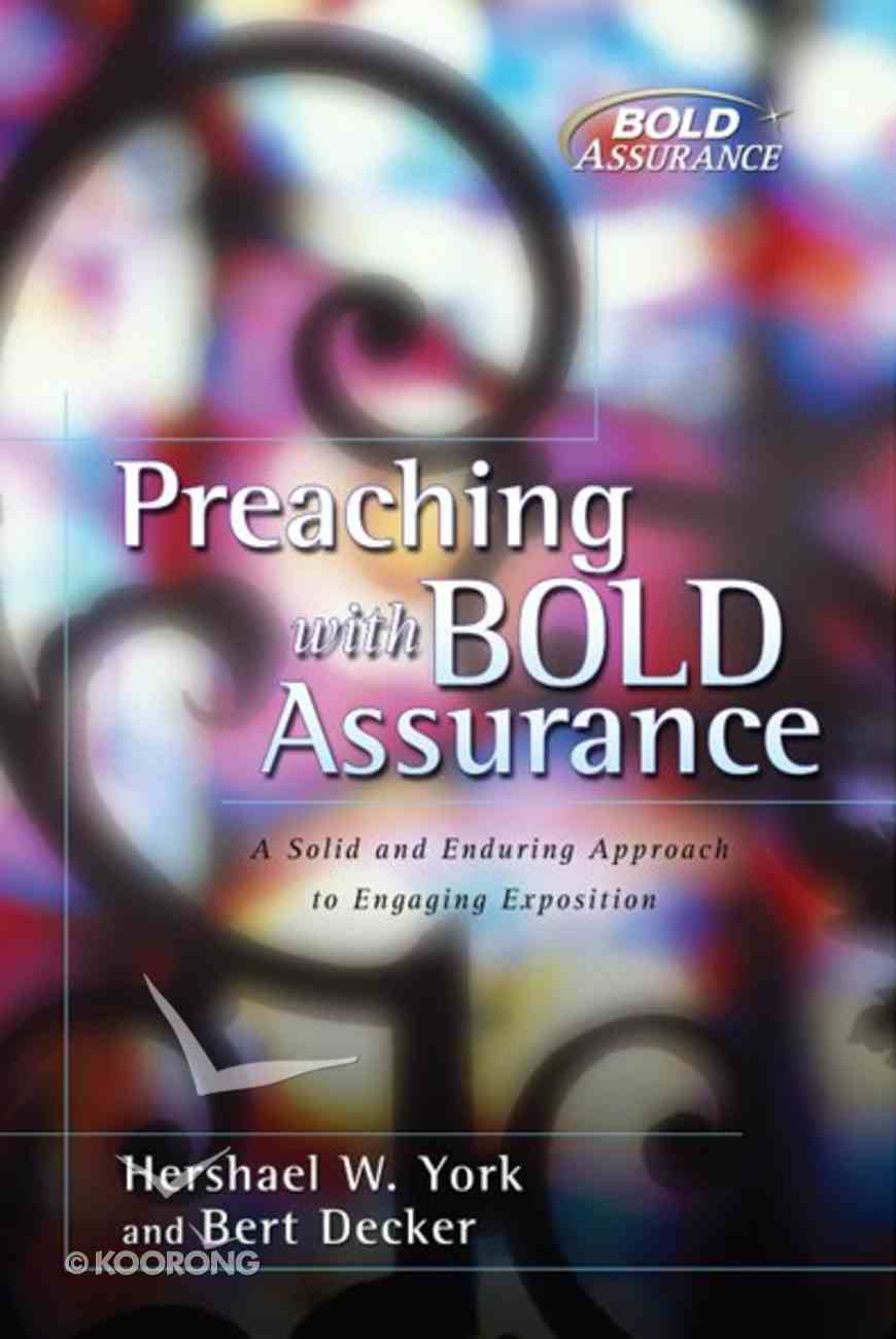 Preaching With Bold Assurance eBook