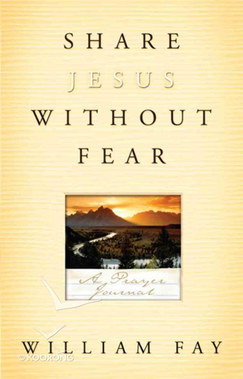 Share Jesus Without Fear (Journal) eBook