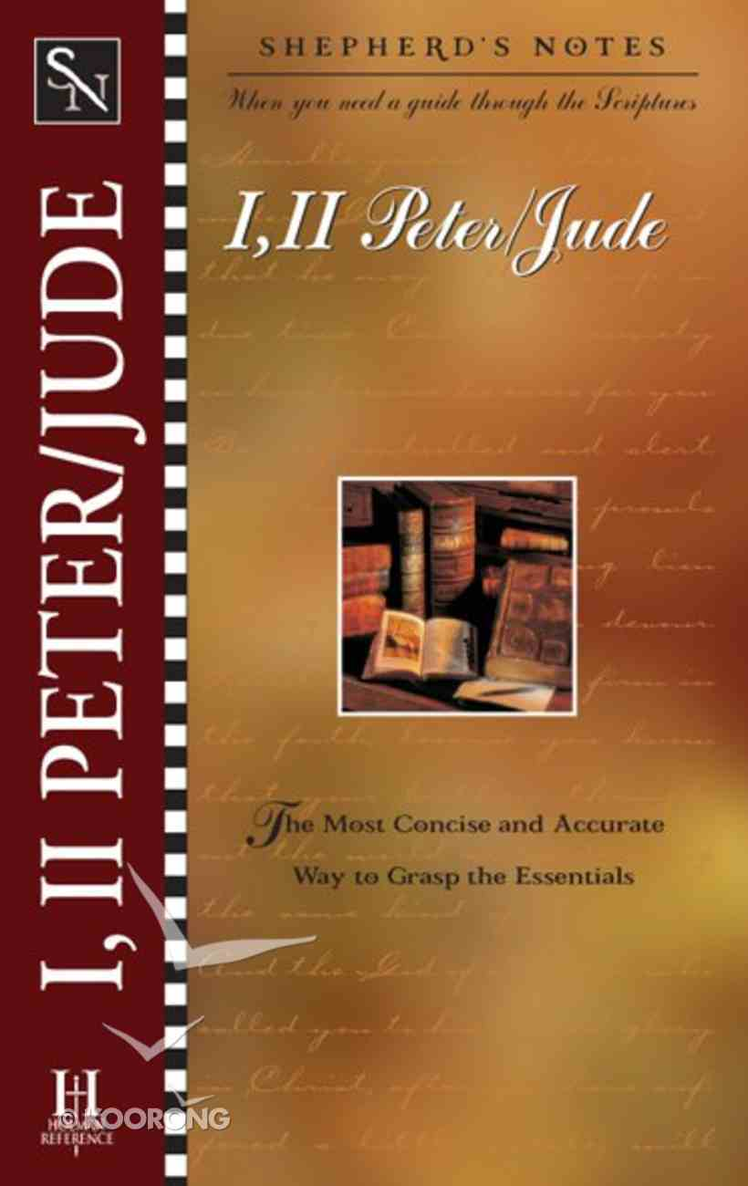 1 & 2 Peter, Jude (Shepherd's Notes Series) eBook