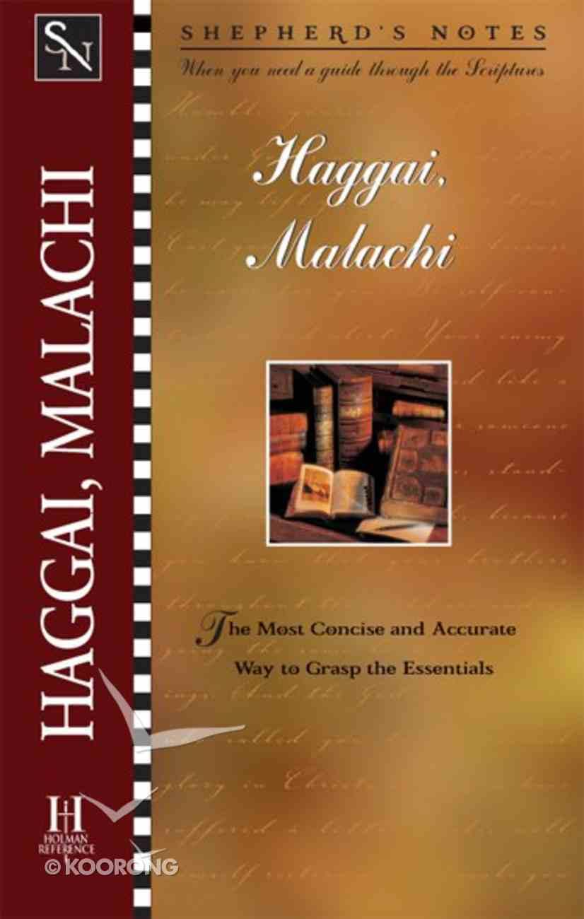 Haggai/Malachi (Shepherd's Notes Series) eBook