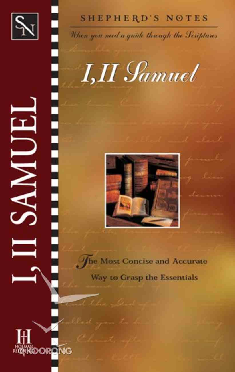1 & 2 Samuel (Shepherd's Notes Series) eBook