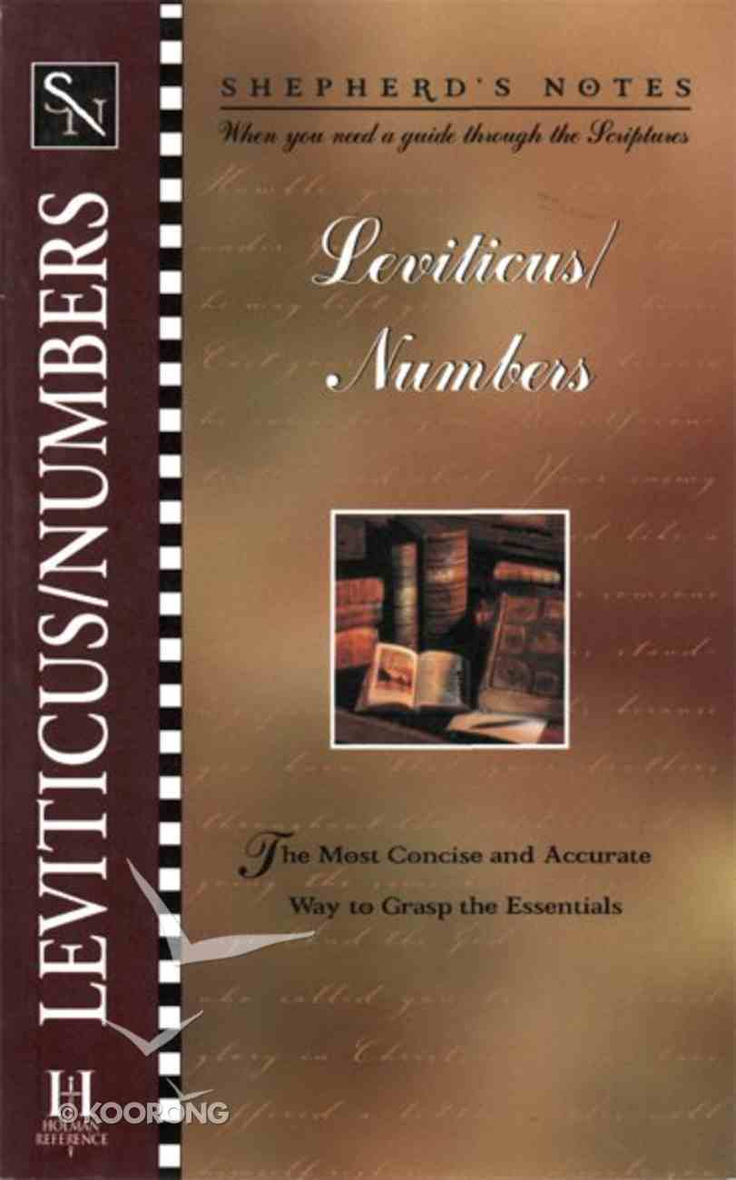 Leviticus/Numbers (Shepherd's Notes Series) eBook
