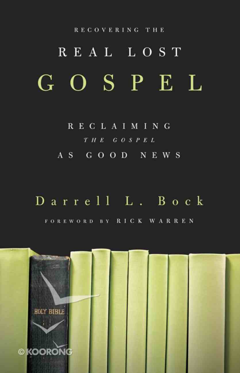 Recovering the Real Lost Gospel eBook