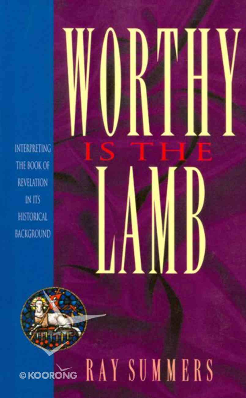 Worthy is the Lamb eBook