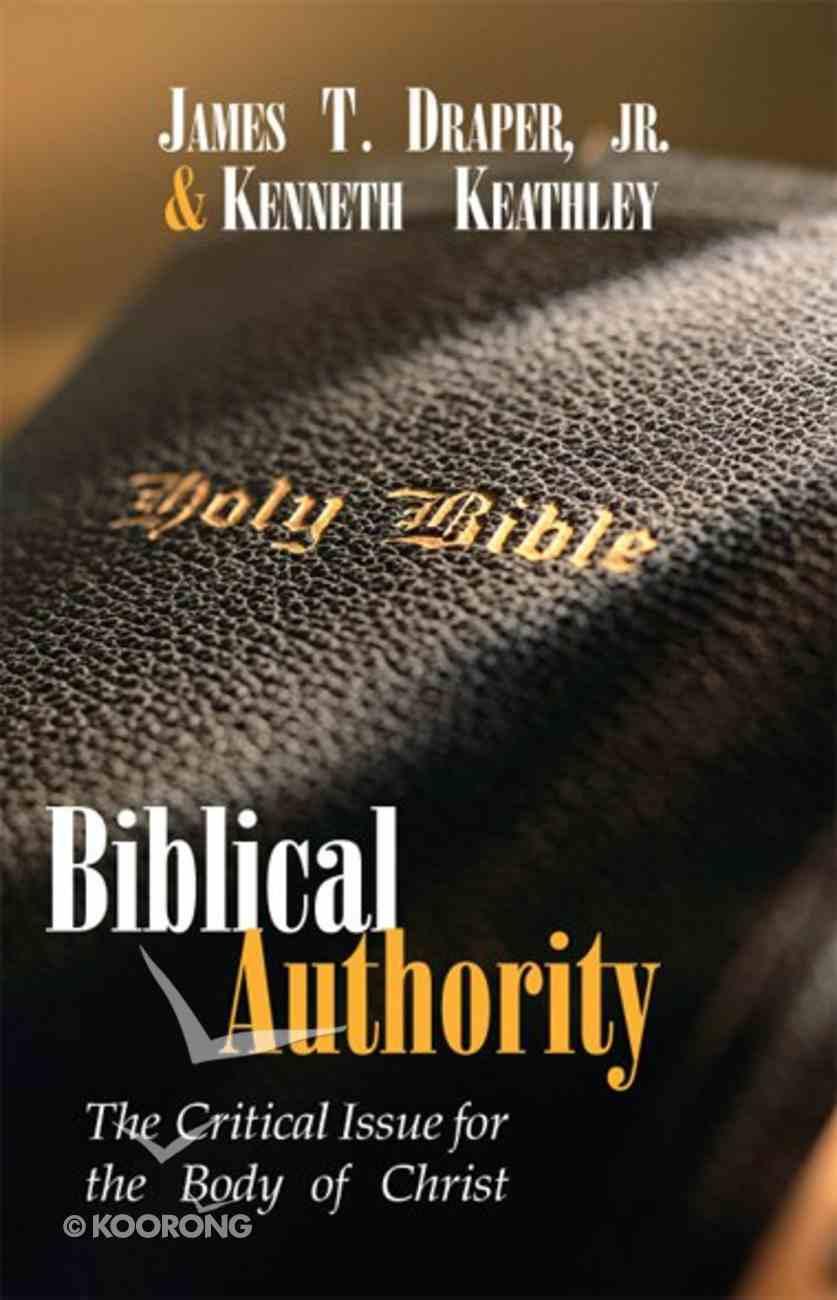 Biblical Authority eBook