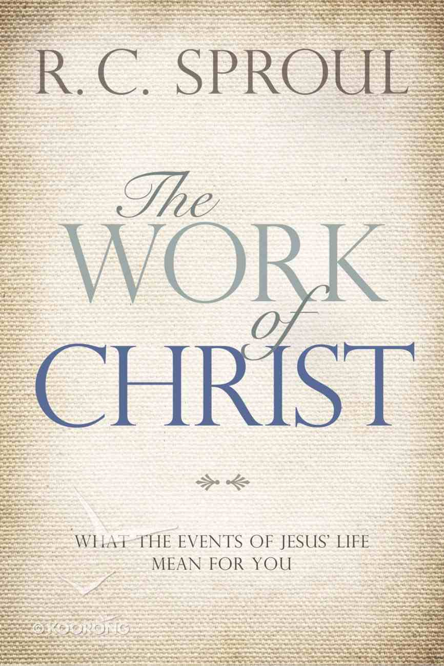 Ct: The Work of Christ eBook
