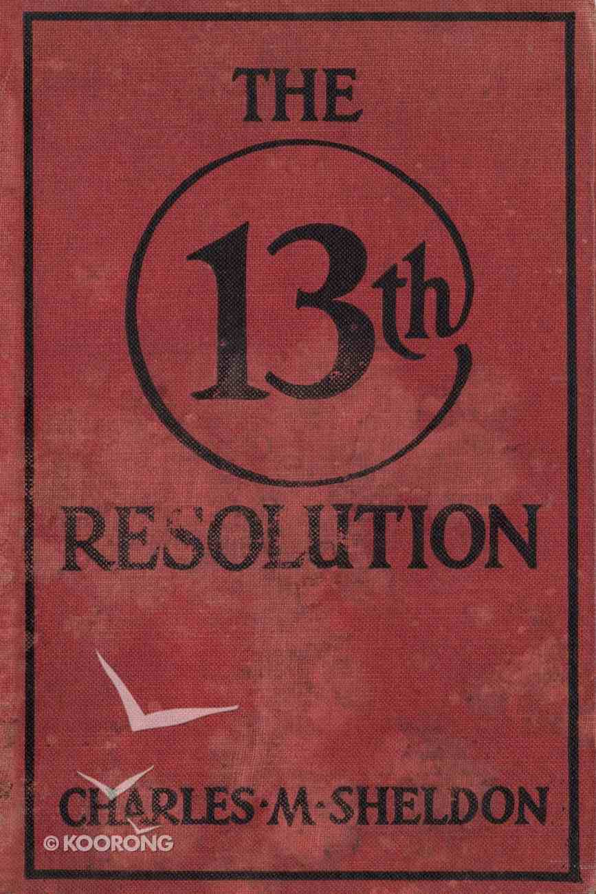 The 13Th Resolution eBook