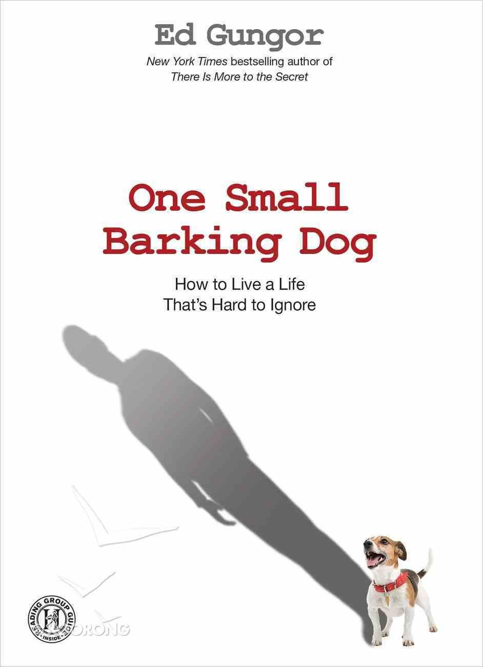 One Small Barking Dog eBook