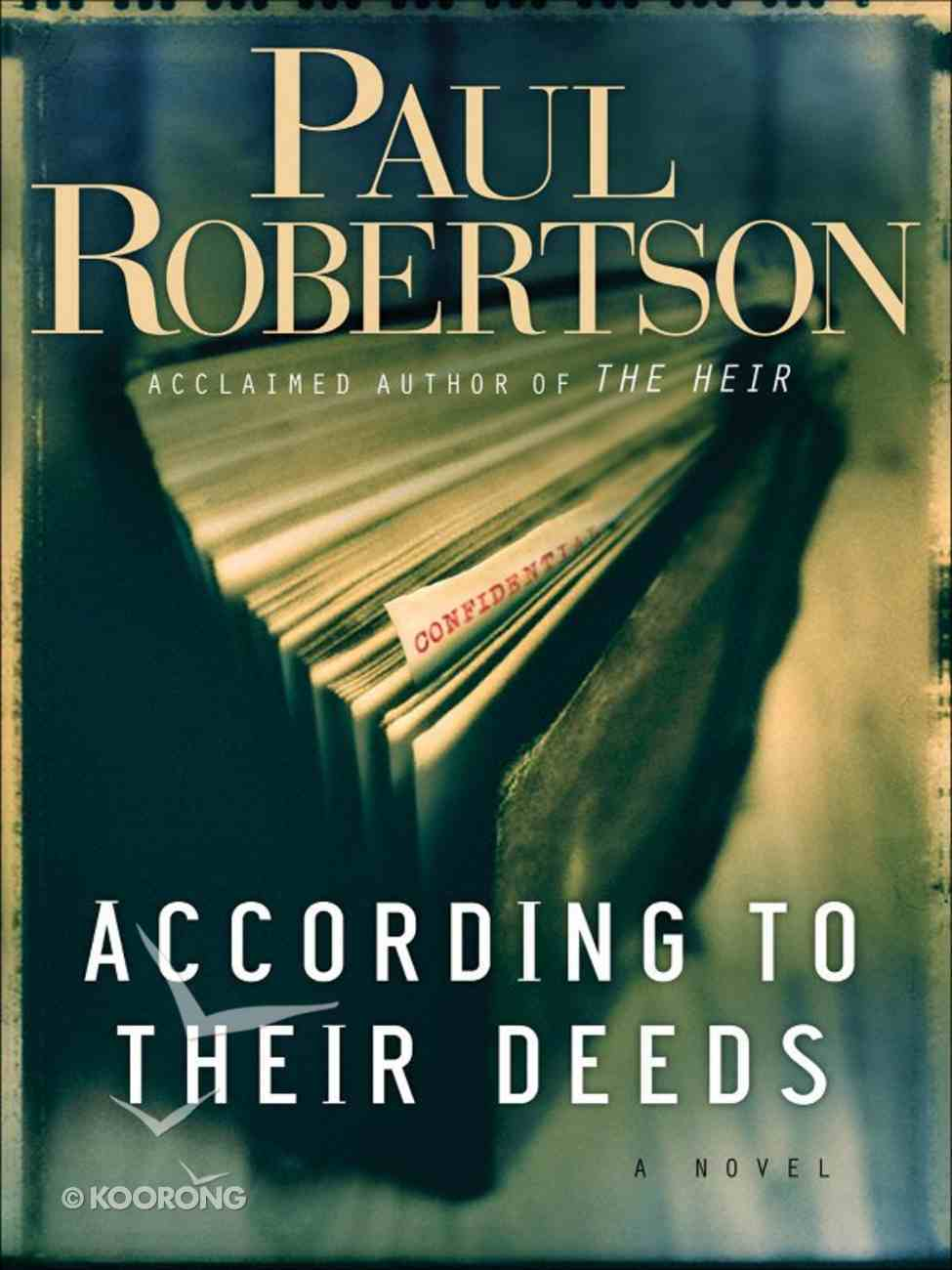 According to Their Deeds eBook