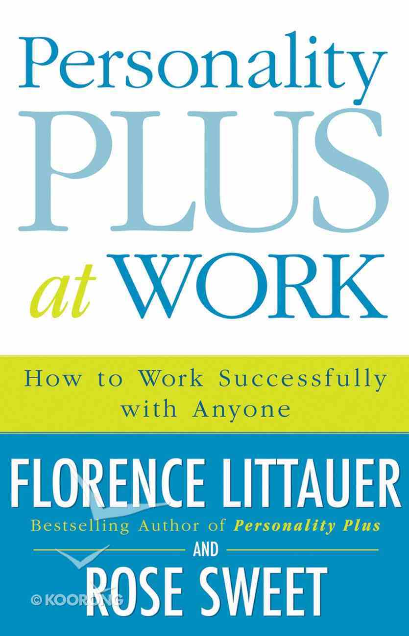 Personality Plus At Work eBook