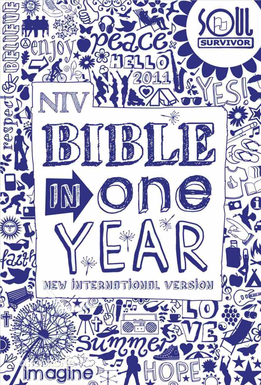 NIV Soul Survivor Bible in One Year (Anglicised Text) eBook