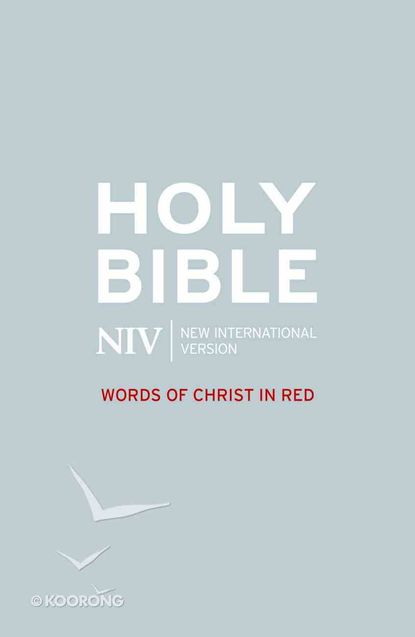 NIV Bible - Words of Christ in Red eBook