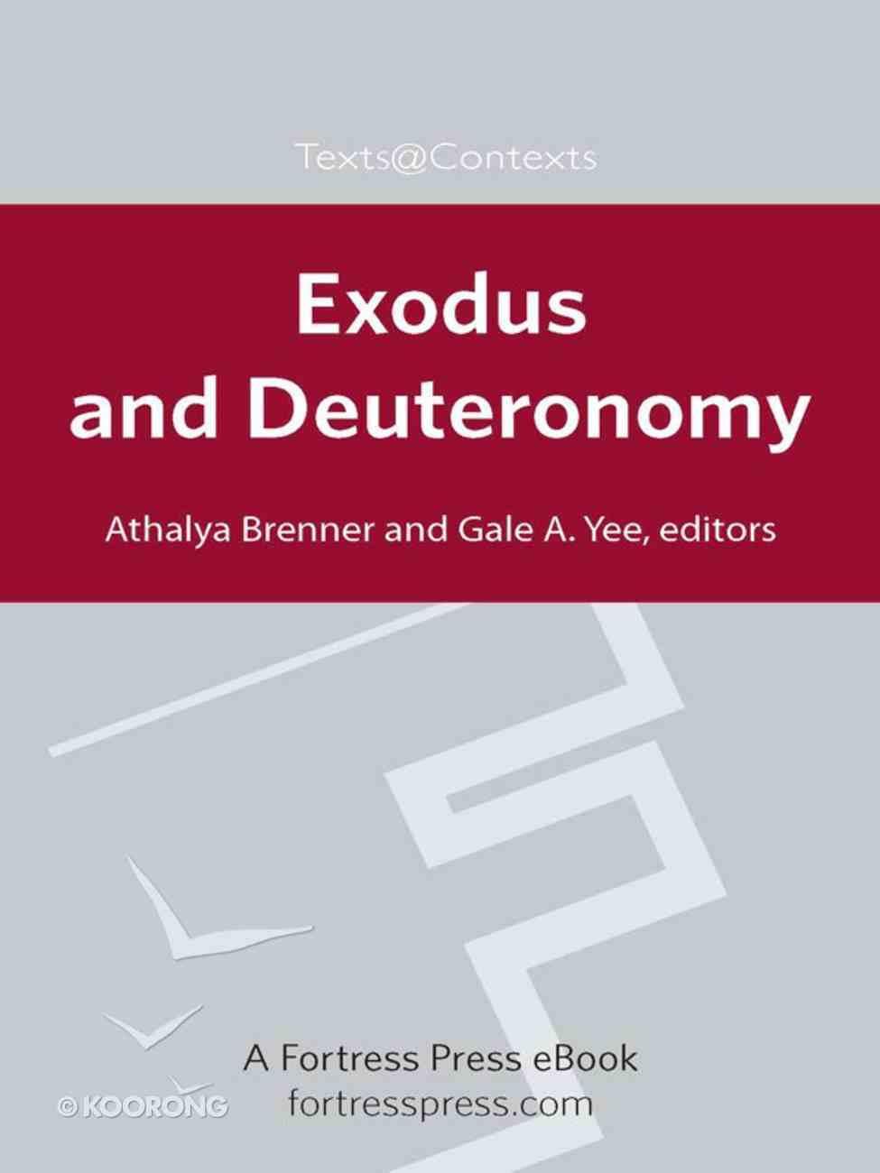 Exodus and Deuteronomy eBook