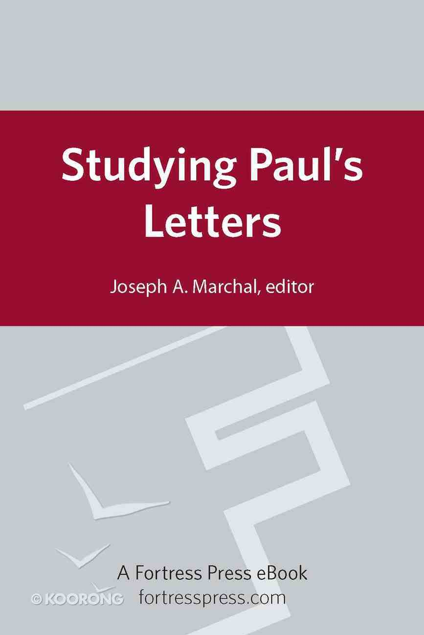 Studying Paul's Letters eBook