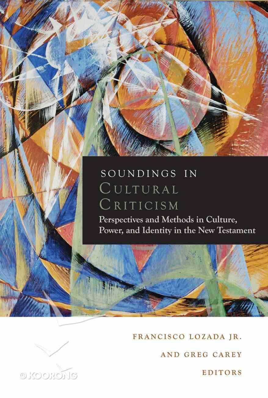 Soundings in Cultural Criticism eBook