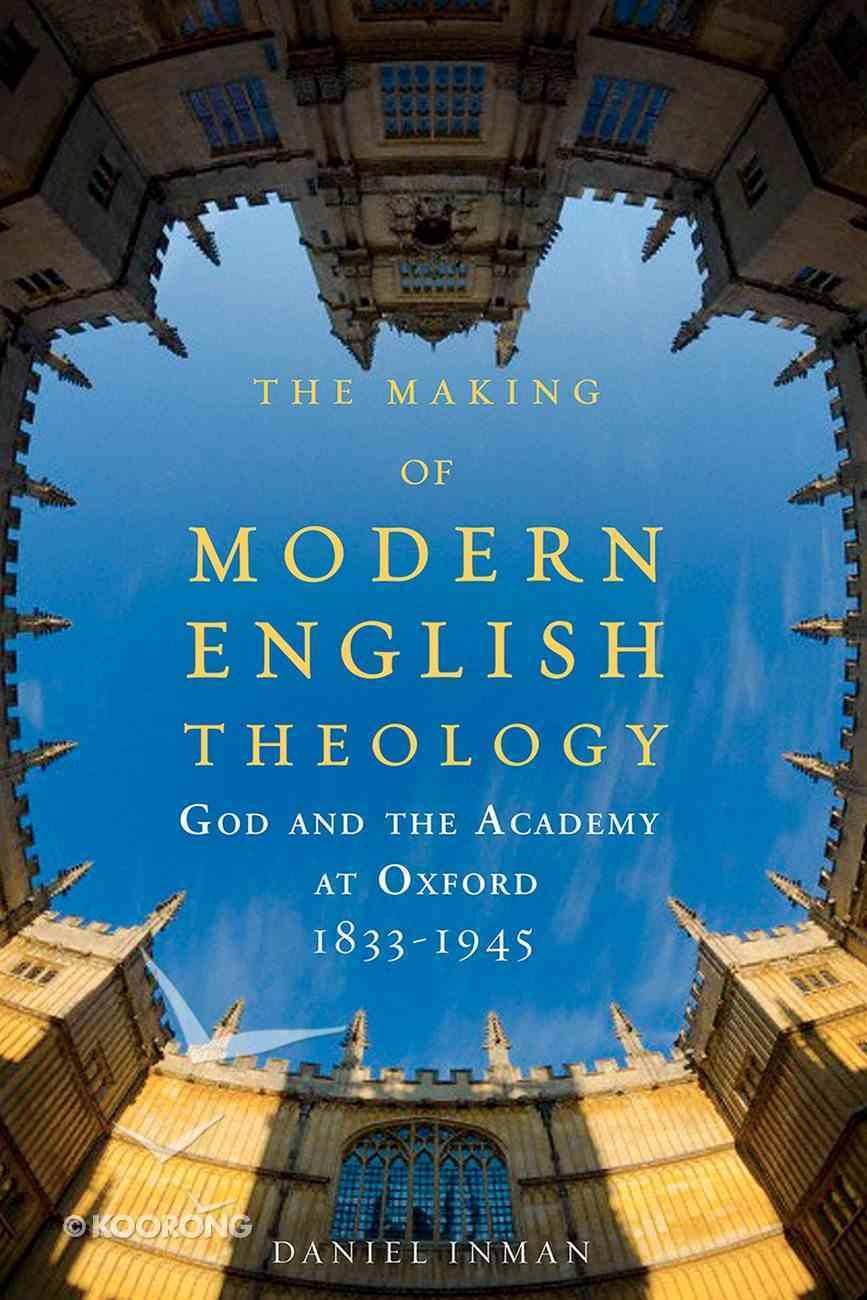 The Making of Modern English Theology eBook