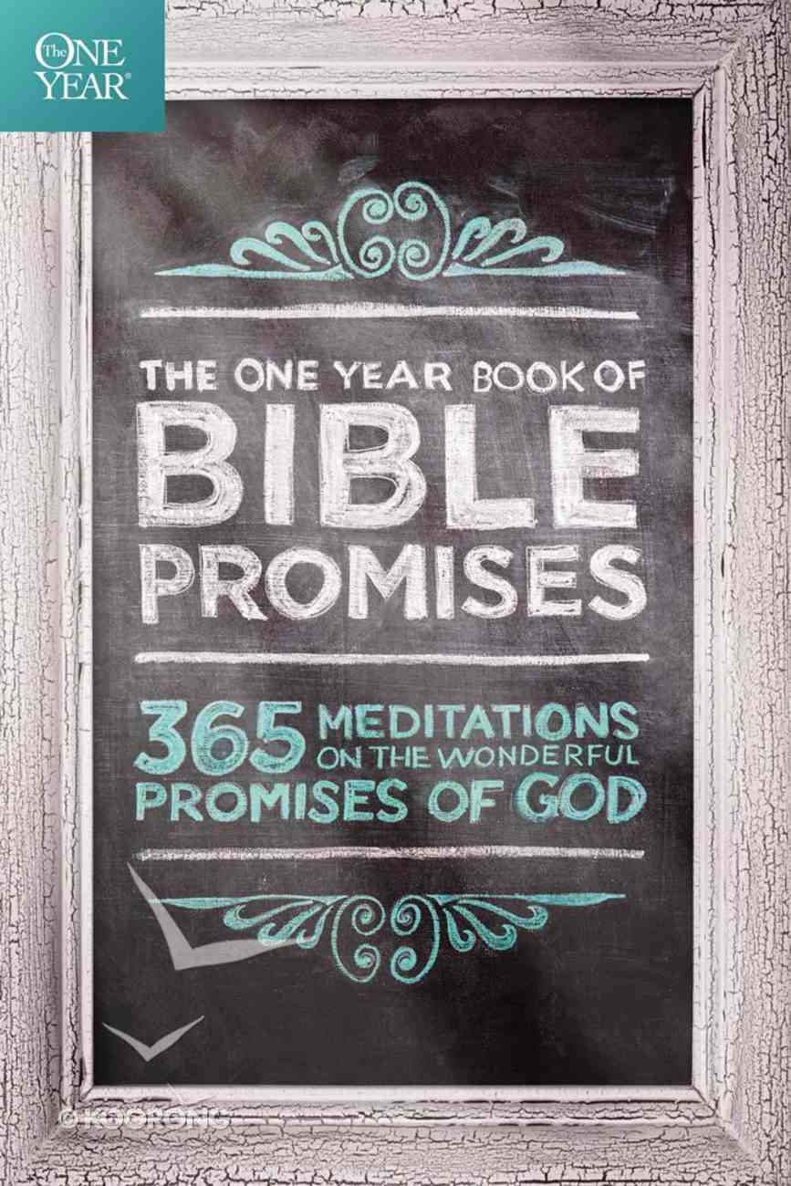The One Year Book of Bible Promises eBook