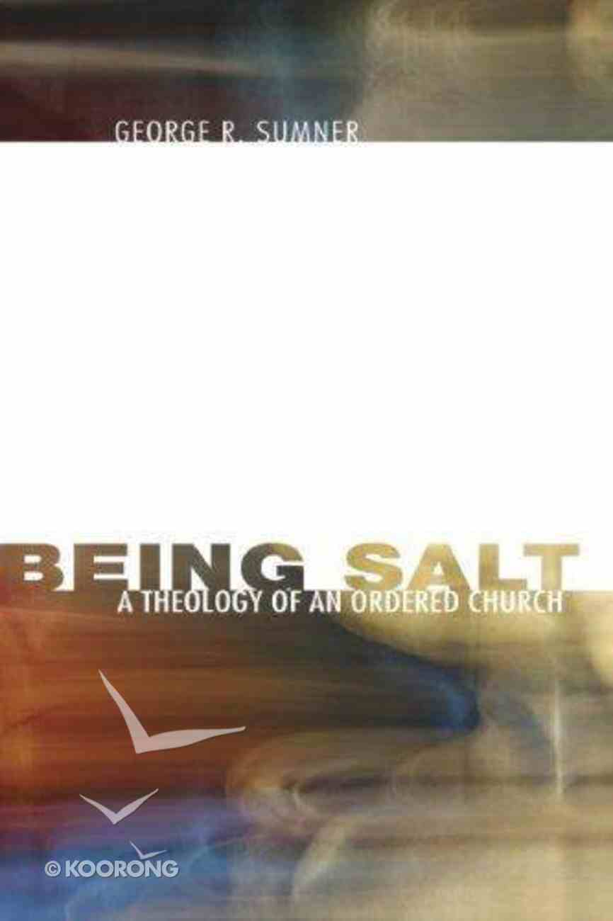 Being Salt Paperback