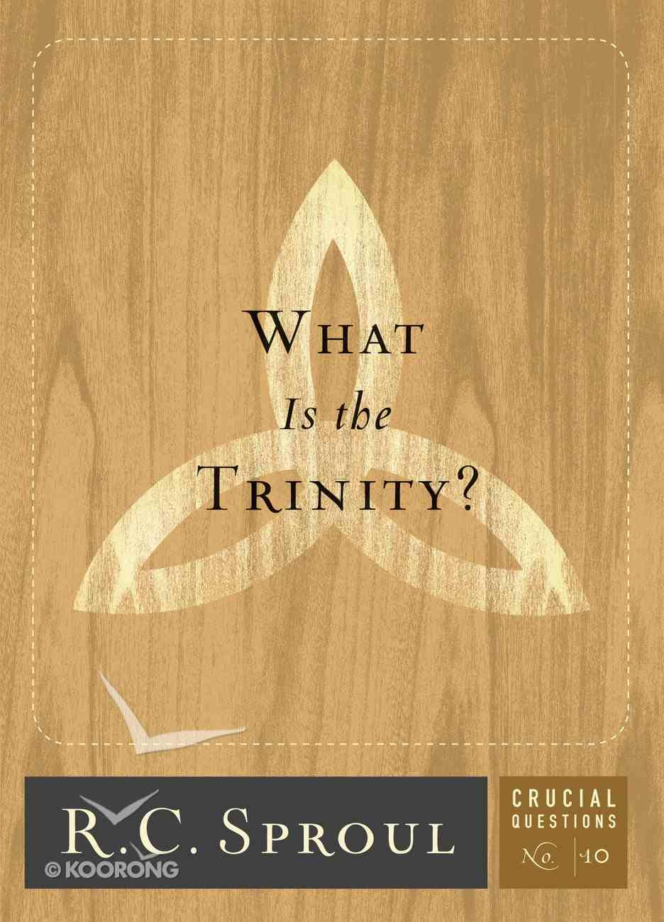 What is the Trinity? (#10 in Crucial Questions Series) eBook