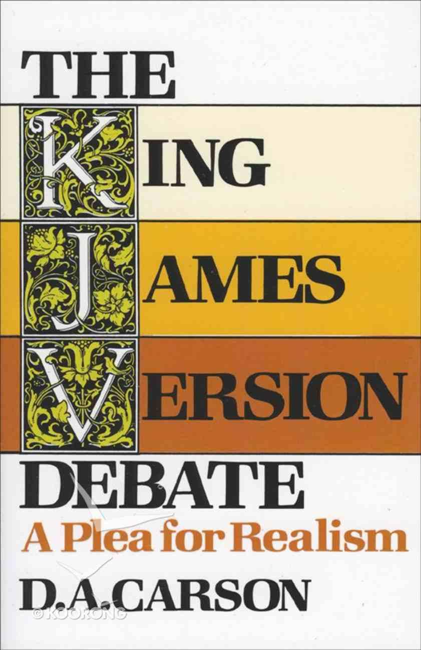 The King James Version Debate eBook