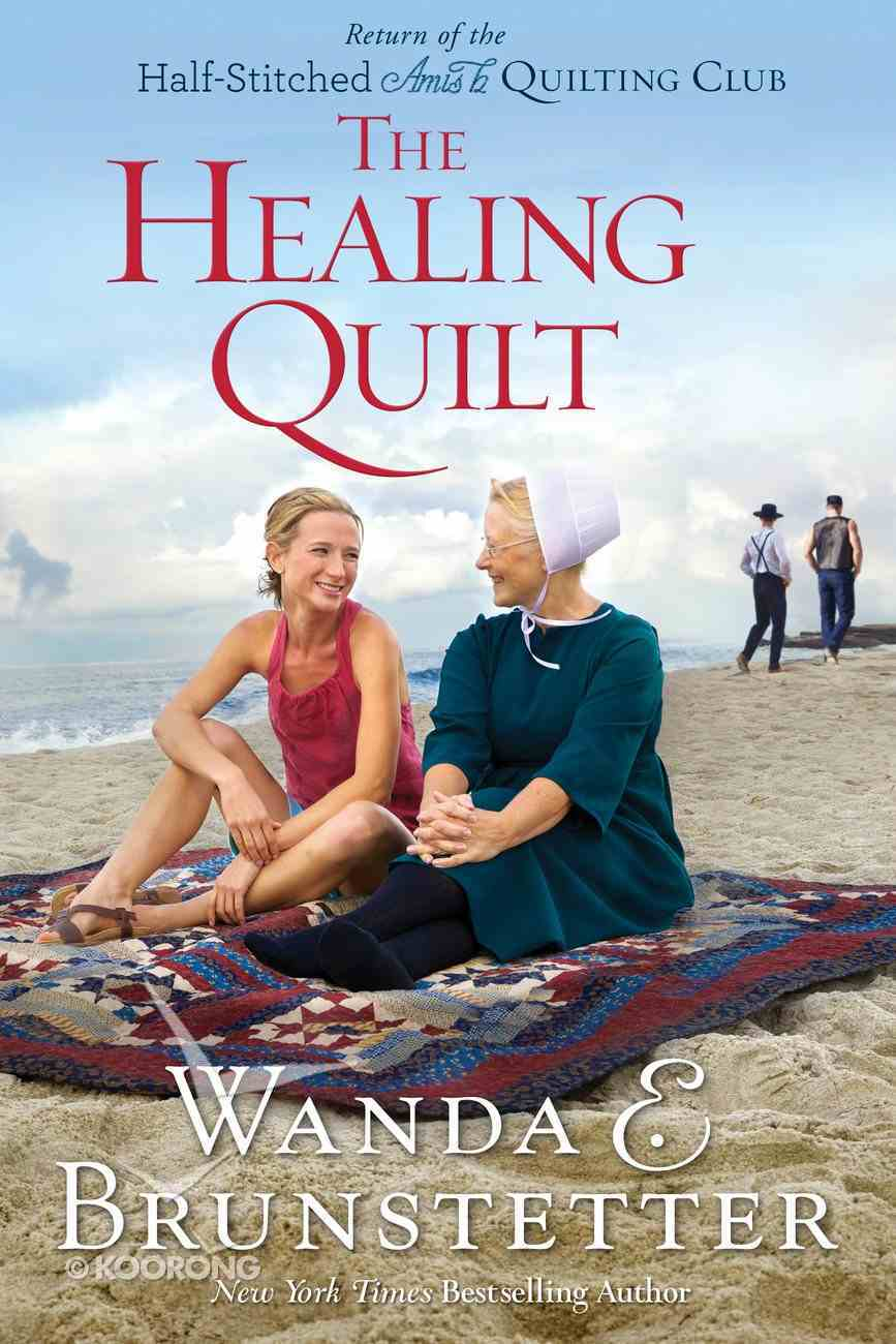 The Healing Quilt (Large Print) (#03 in Half-stitched Amish Quilting Club Series) Paperback