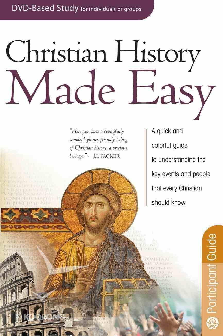 Christian History Made Easy (DVD Leader Pack) (Rose Bible Basics Series) Pack