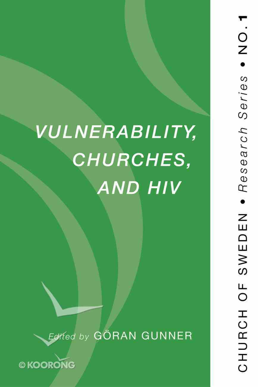 Vulnerability, Churches, and Hiv Paperback