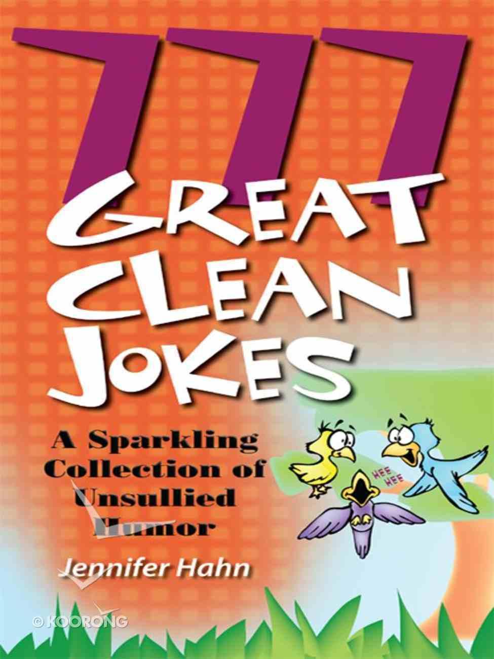777 Great Clean Jokes eBook