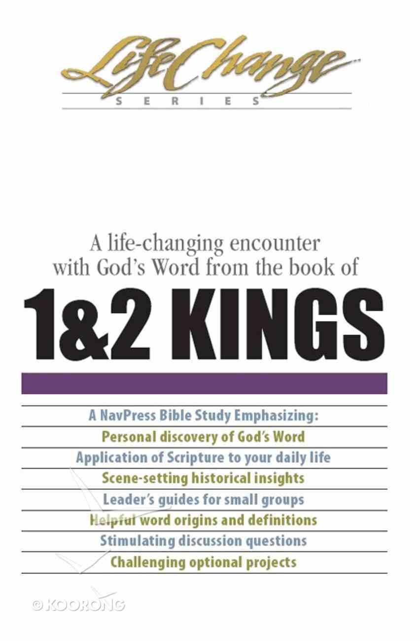1 & 2 Kings (Lifechange Study Series) eBook
