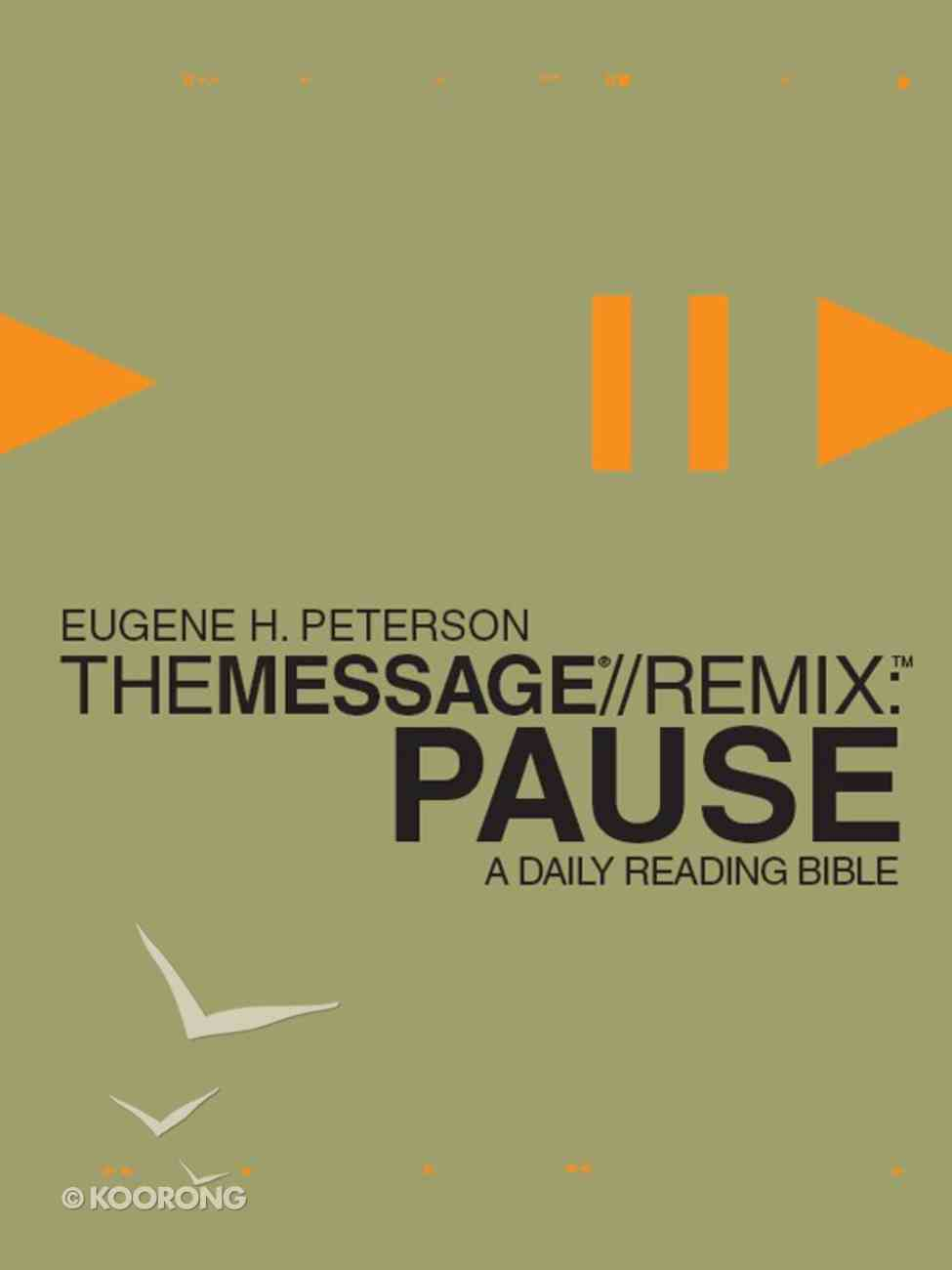 Pause - the Message//Remix eBook