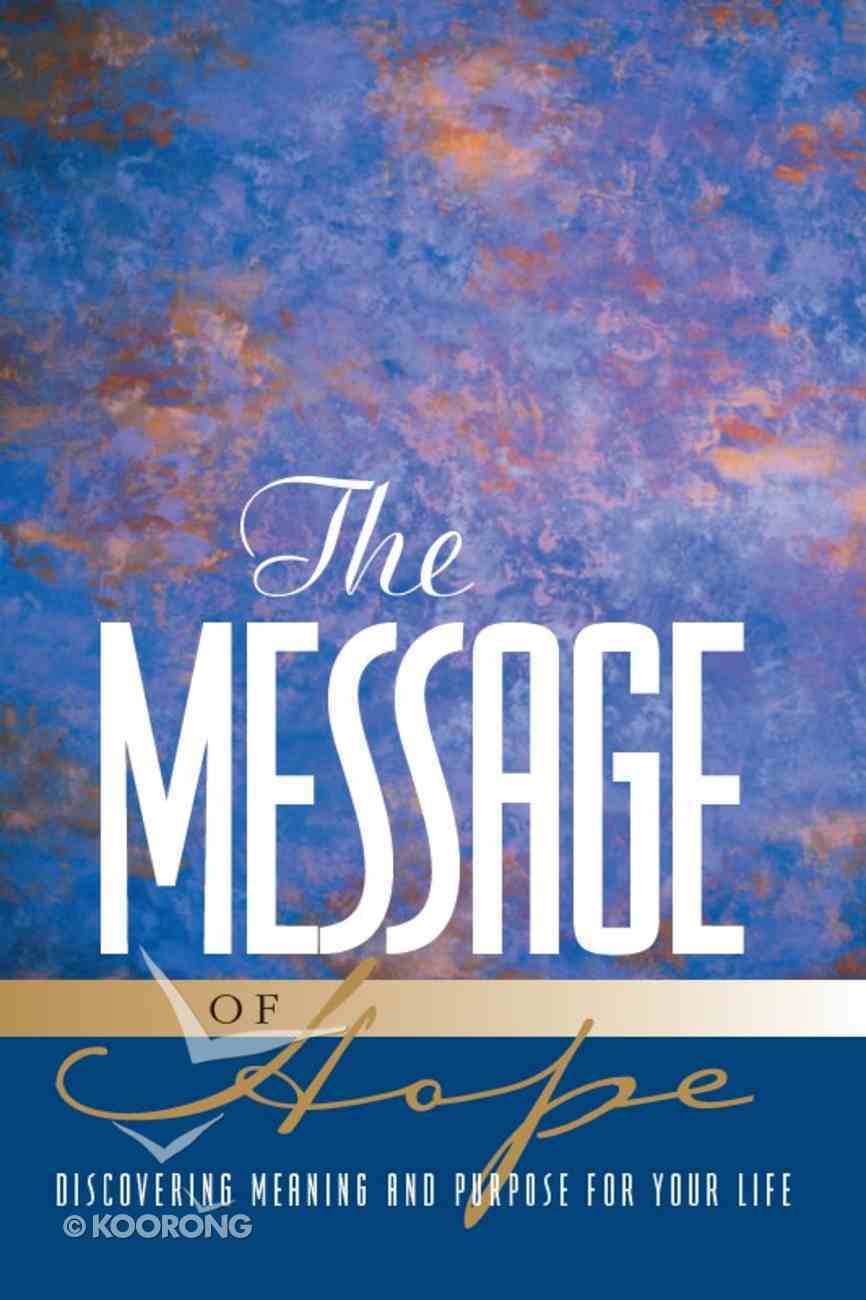 The Message of Hope eBook