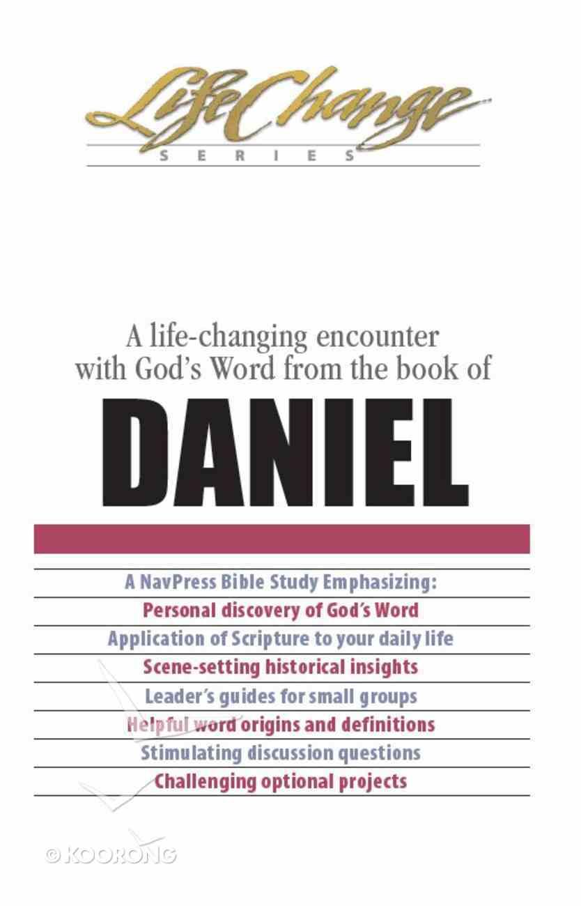 Daniel (Lifechange Study Series) eBook