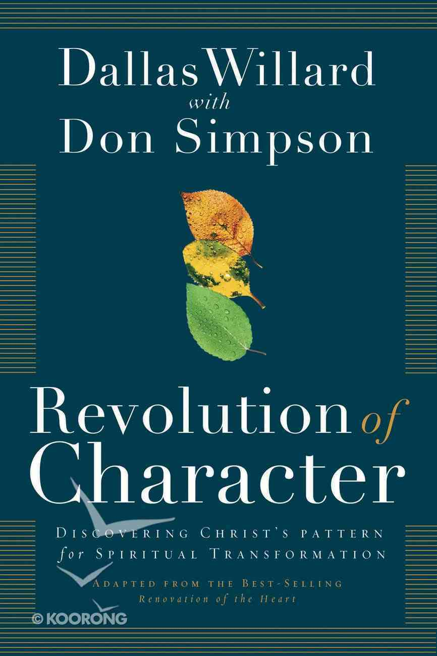 Revolution of Character eBook