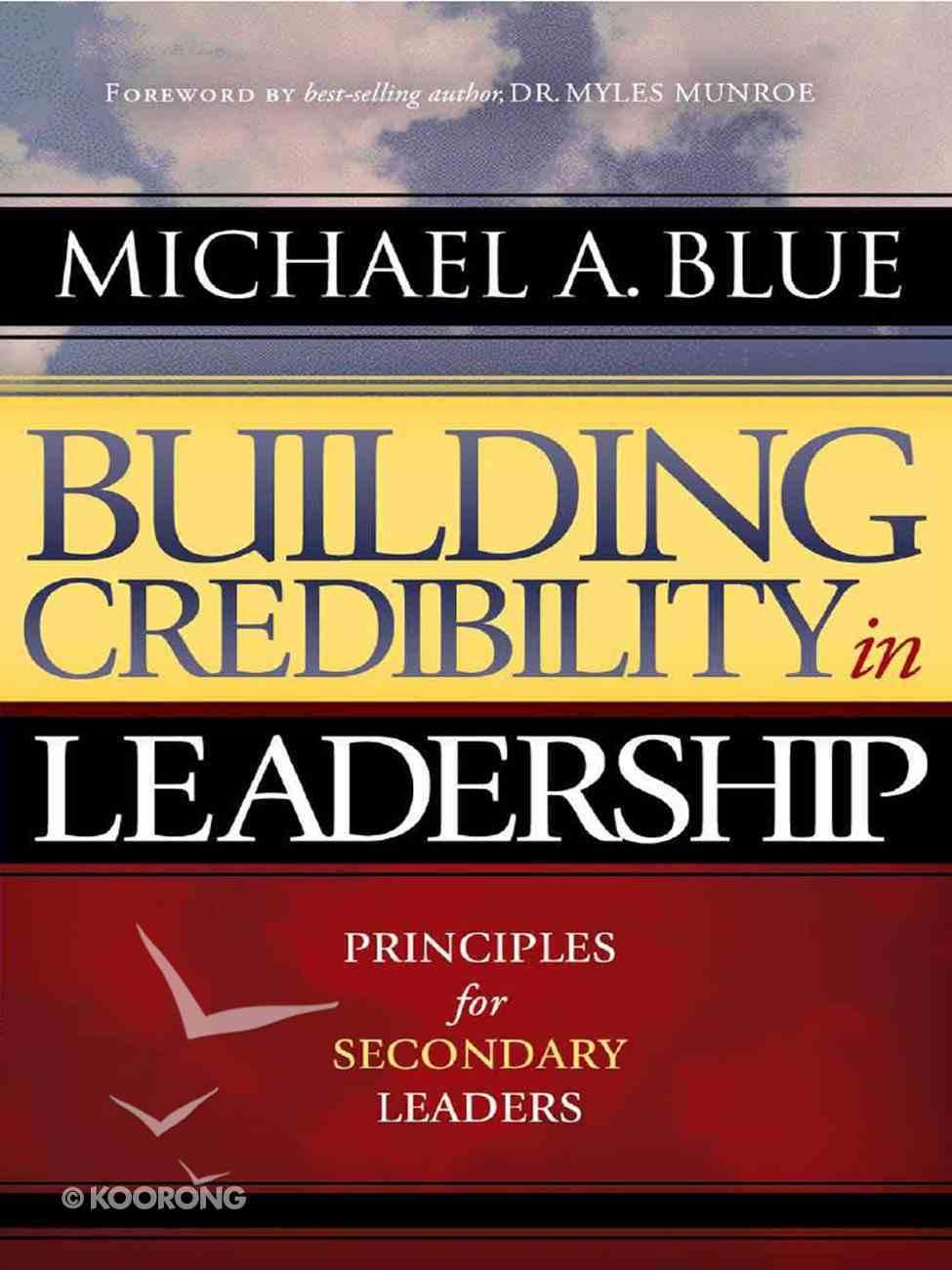 Building Credibility in Leadership eBook