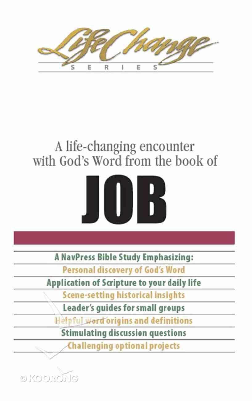 Job (Lifechange Study Series) eBook