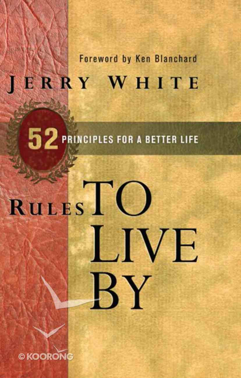 Rules to Live By eBook