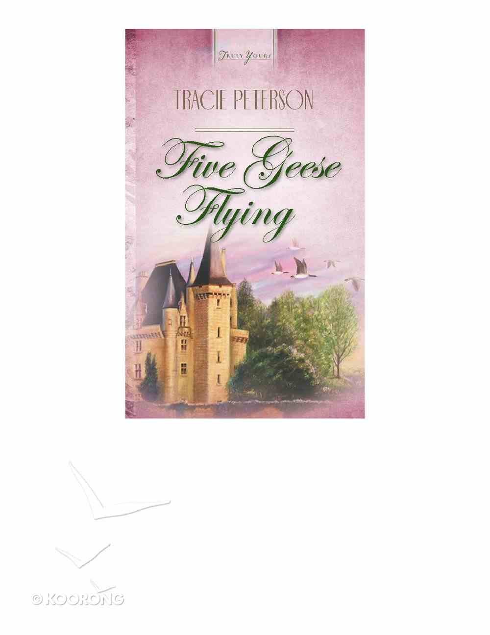 Five Geese Flying (#259 in Heartsong Series) eBook